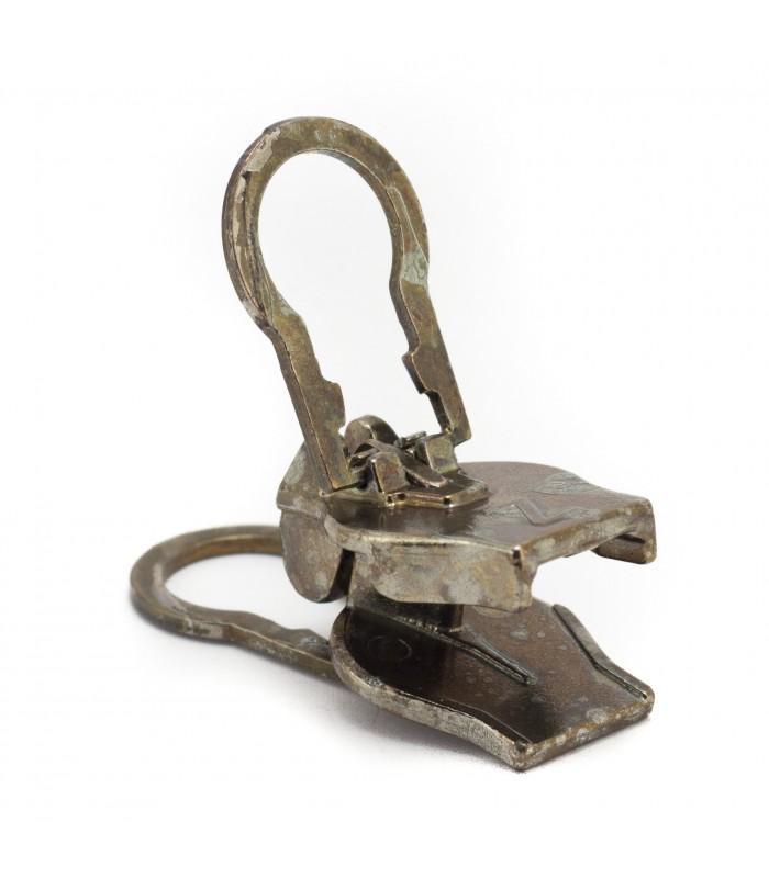 Cursor con clip para cremalleras de nylon espirales. Zlideon