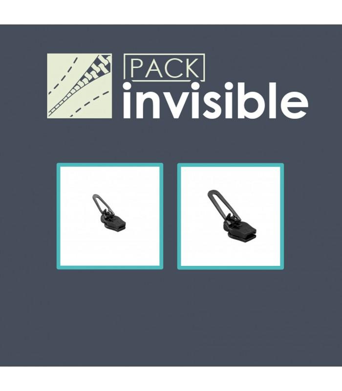 Pack réparation curseurs Zlideon pour fermeture invisibles imperméables