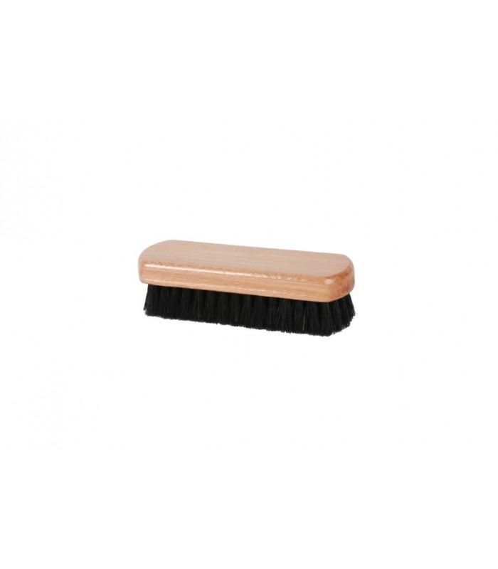 Brosse à poils doux en soie noire, petit modèle