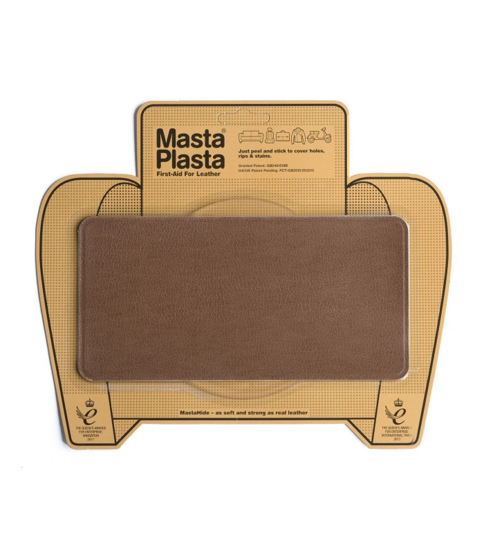 Patch Masta Plasta taille L réparation cuir 20cm x10cm