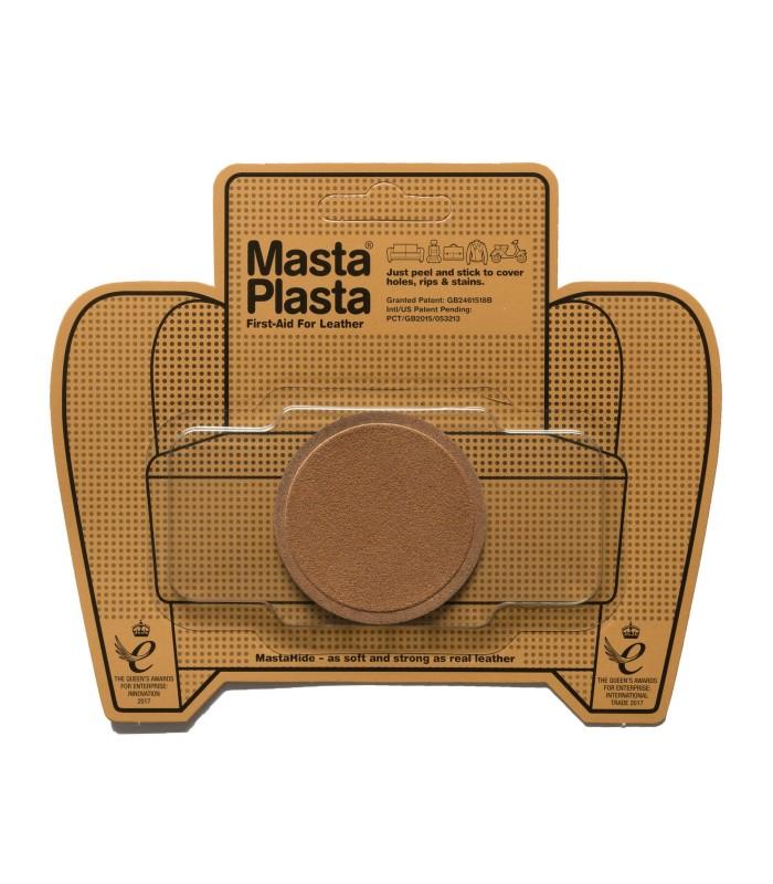 Patch Masta Plasta taille S réparation cuir suédé 5x5cm