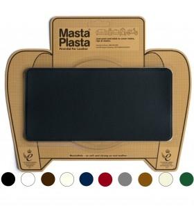 Parche MastaPlasta tamaño L reparación cuero liso 20x10cm