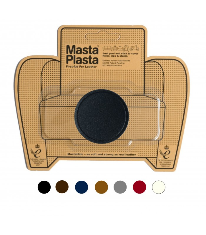 Patch Masta Plasta taille S réparation cuir 5x5cm