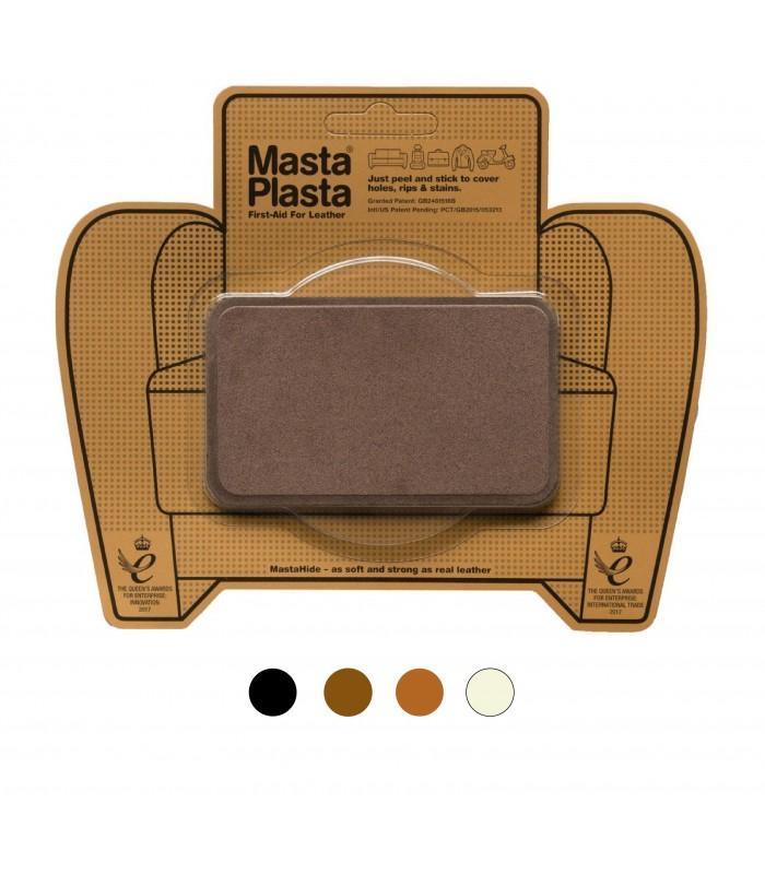 Patch Masta Plasta taille M réparation cuir suédé 10x6cm