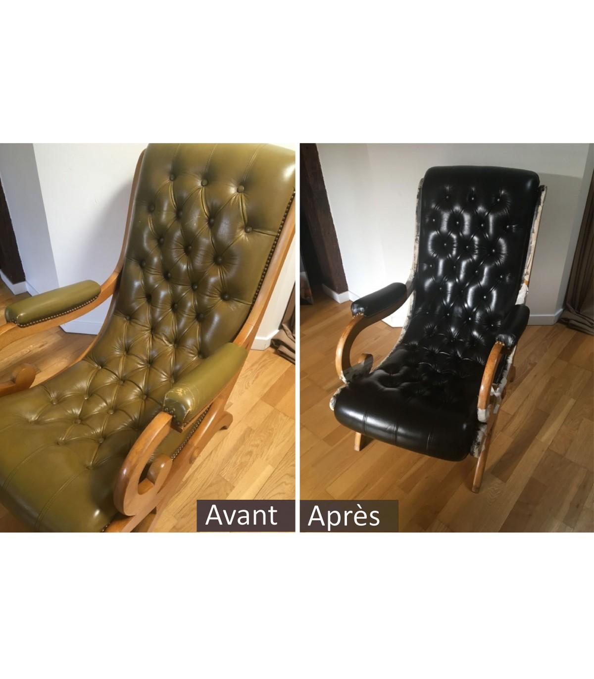 Changer La Couleur D Un Canapé En Cuir kit nouvelle couleur cuir / alta-cuir - clip&zip