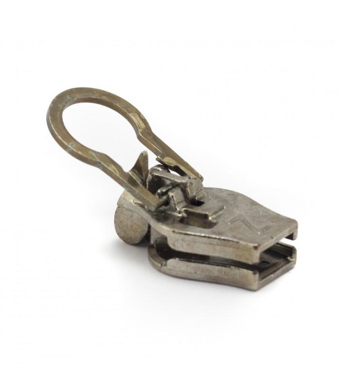 Cursor con clip para cremalleras de metal. Zlideon