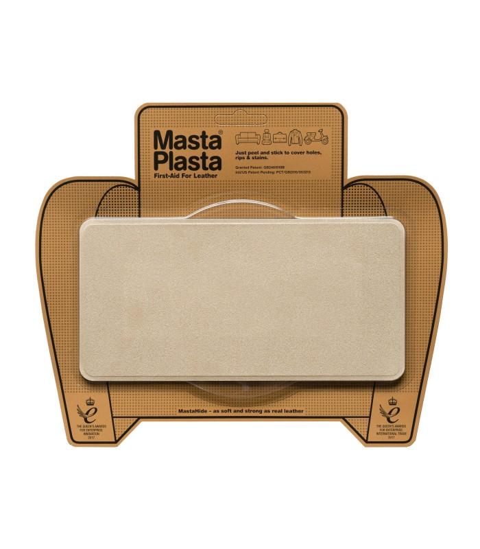 Patch Masta Plasta taille L réparation cuir suédé 20x10cm