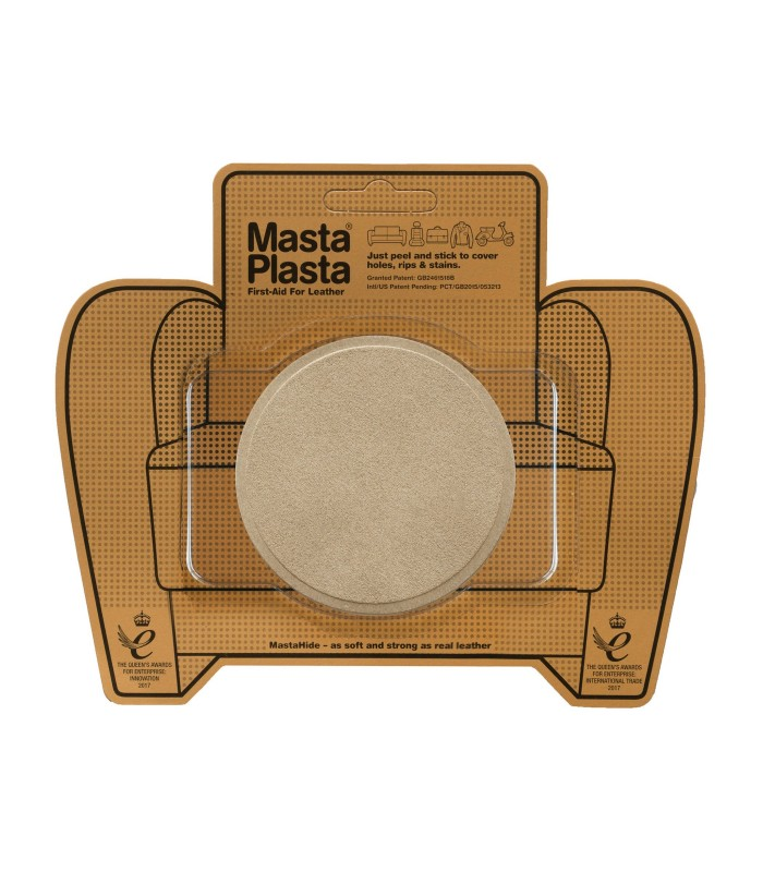 Patch Masta Plasta taille M réparation cuir suédé 8x8cm