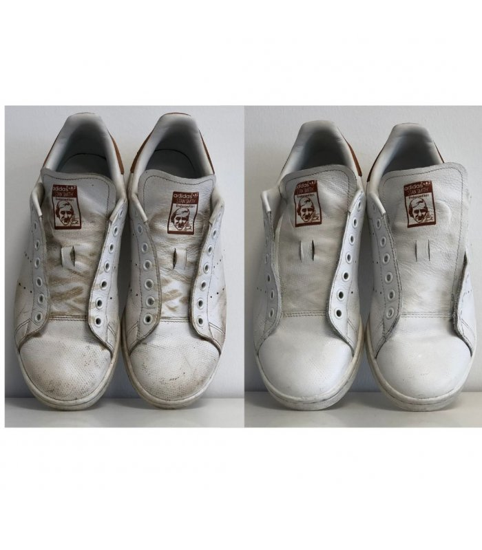 Cirage blanc pour Sneakers baskets chaussures