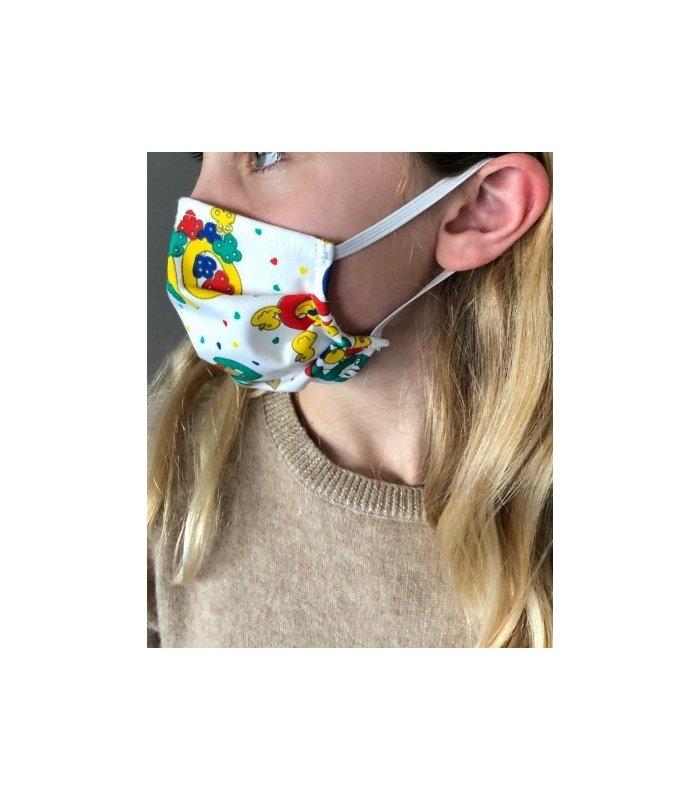 Kit de fabrication masque lavable pour enfant AFNOR Catégorie 1- lot de 2