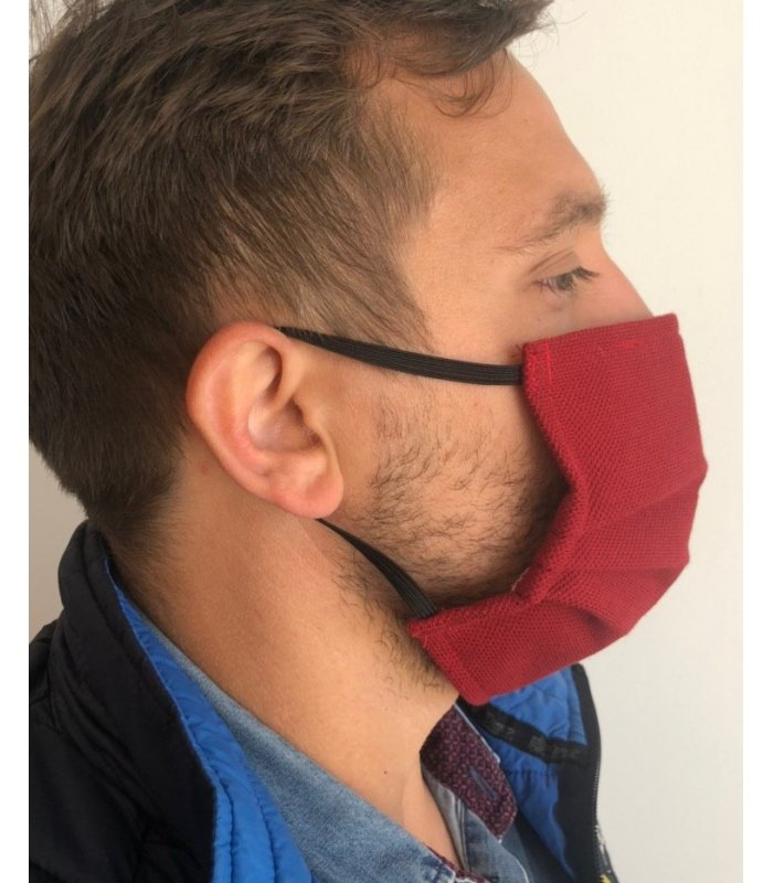 Masque de protection AFNOR Catégorie 1, tout public - lot de 2
