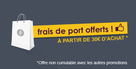 Livraison gratuite Clip&Zip à partir de 30€ d'achat