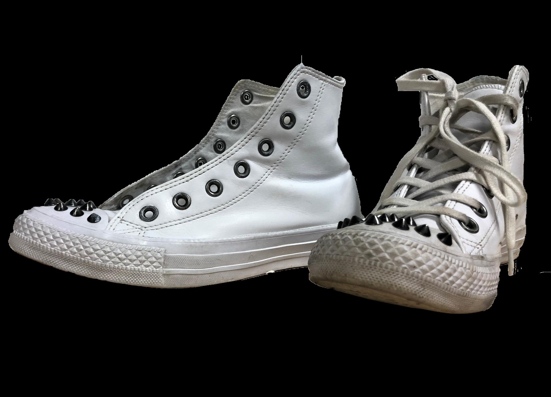 chaussure sale et chaussure propre