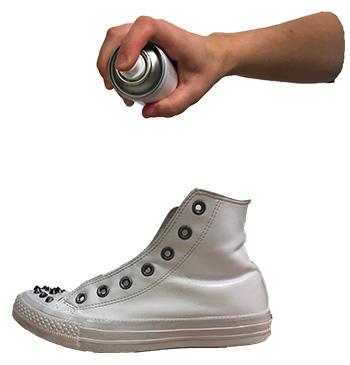 imperméabilisation de chaussure
