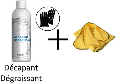 dégraissant pour le nettoyage des cuirs