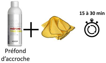 préfond d'accroche pour avant coloration