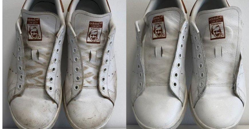 ¡Sneakers Blancas : cómo guardar la blancura de mis zapatillas!